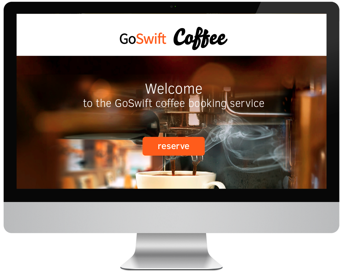 GoSwift Coffee logo ja veeb